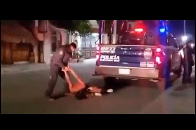 Exhiben nuevo caso de violencia de policías en Quintana Roo