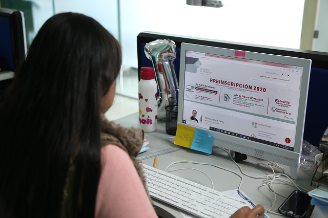 Inician preinscripciones en Puebla; habrá modos digital y presencial