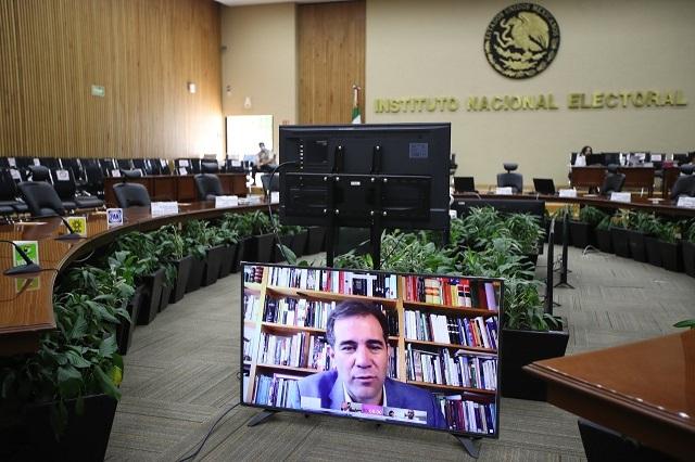 Avala INE alianzas en Puebla y reparto de candidaturas