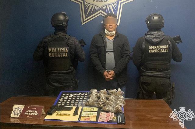 Captura la Policía Estatal a presunto sicario de El Toñín