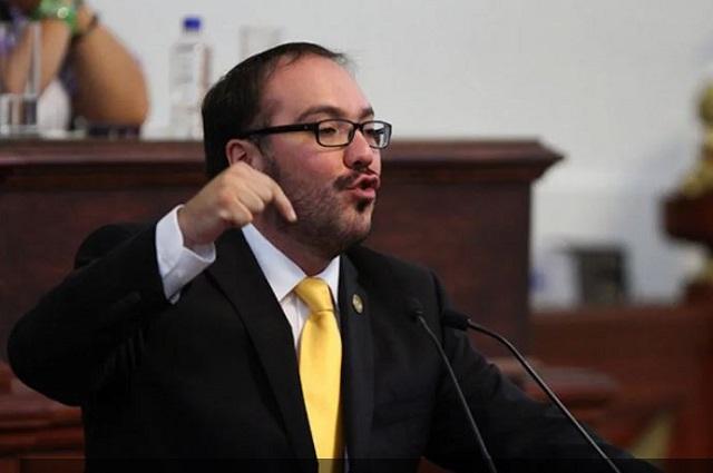 Desafuero de Mauricio Toledo piden en Cámara de Diputados