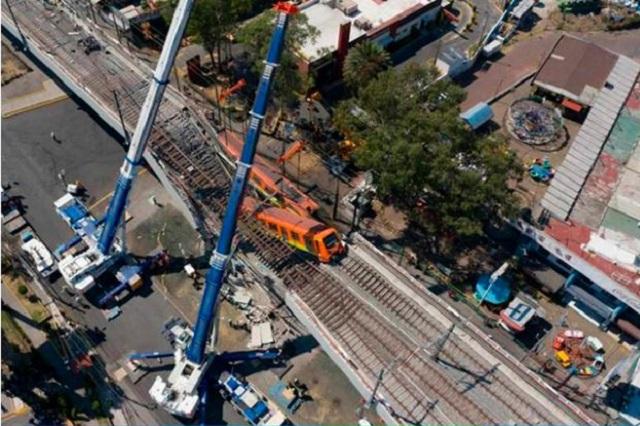 Peritaje de derrumbe en la Línea 12 del Metro costará 20 mdp