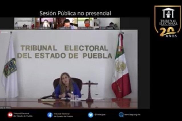 TEEP ordena al PAN resolver queja de Gali contra Rivera Pérez