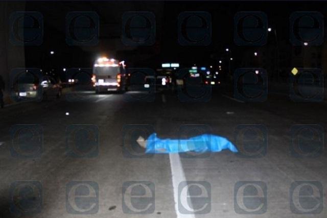 Atropellan y matan a un peatón en la carretera a Canoa