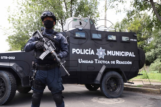 Policía Municipal de Puebla hizo más de 100 detenciones en 1 semana