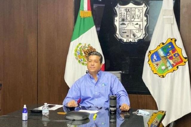 Quitan fuero a García Cabeza de Vaca, gobernador de Tamaulipas