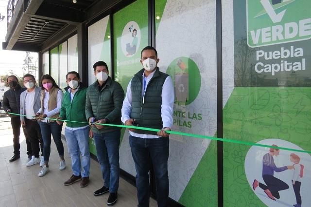Partido Verde inaugura oficinas del Comité Municipal de Puebla