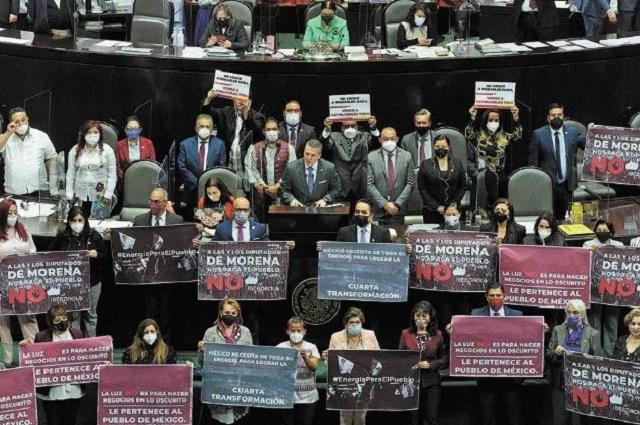 Diputados avalan reforma al sector eléctrico; va al Senado