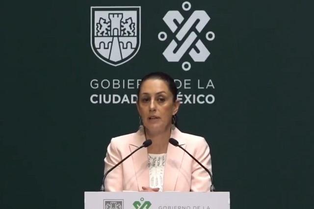 Cierres obligatorios en la CDMX anuncia Claudia Sheinbaum