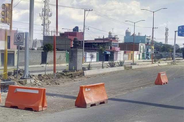 Destruye obra de Forjadores trabajo previo de imagen urbana