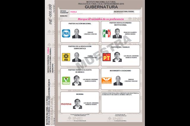 Aprueba INE cambios a boleta electoral y documentación de la elección