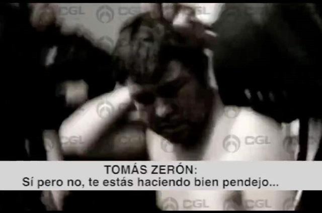 Muestran a Zeron amenazando a detenido por caso Ayotzinapa