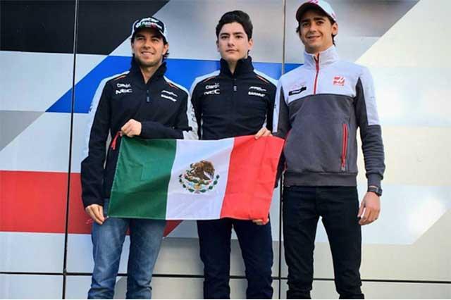 Tres pilotos mexicanos arrancan motores en evento de Fórmula 1