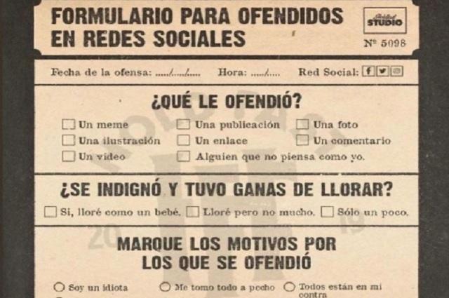 Crean formulario para ofendidos en redes sociales