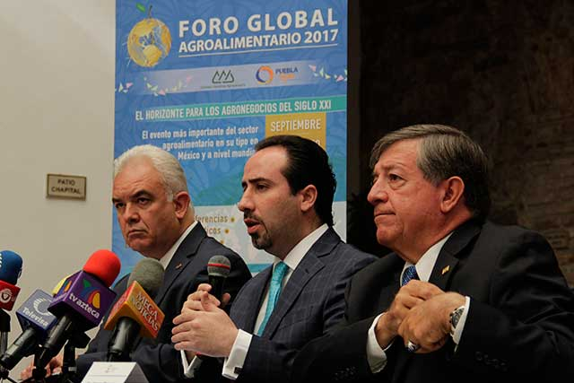 Puebla será sede del Foro Global Agroalimentario, anuncia SDRSOT
