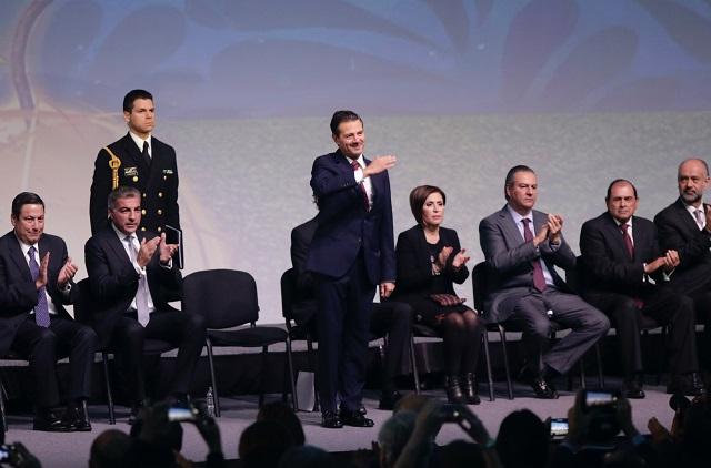 Defiende Peña Nieto en Puebla ventajas del TLCAN para el campo