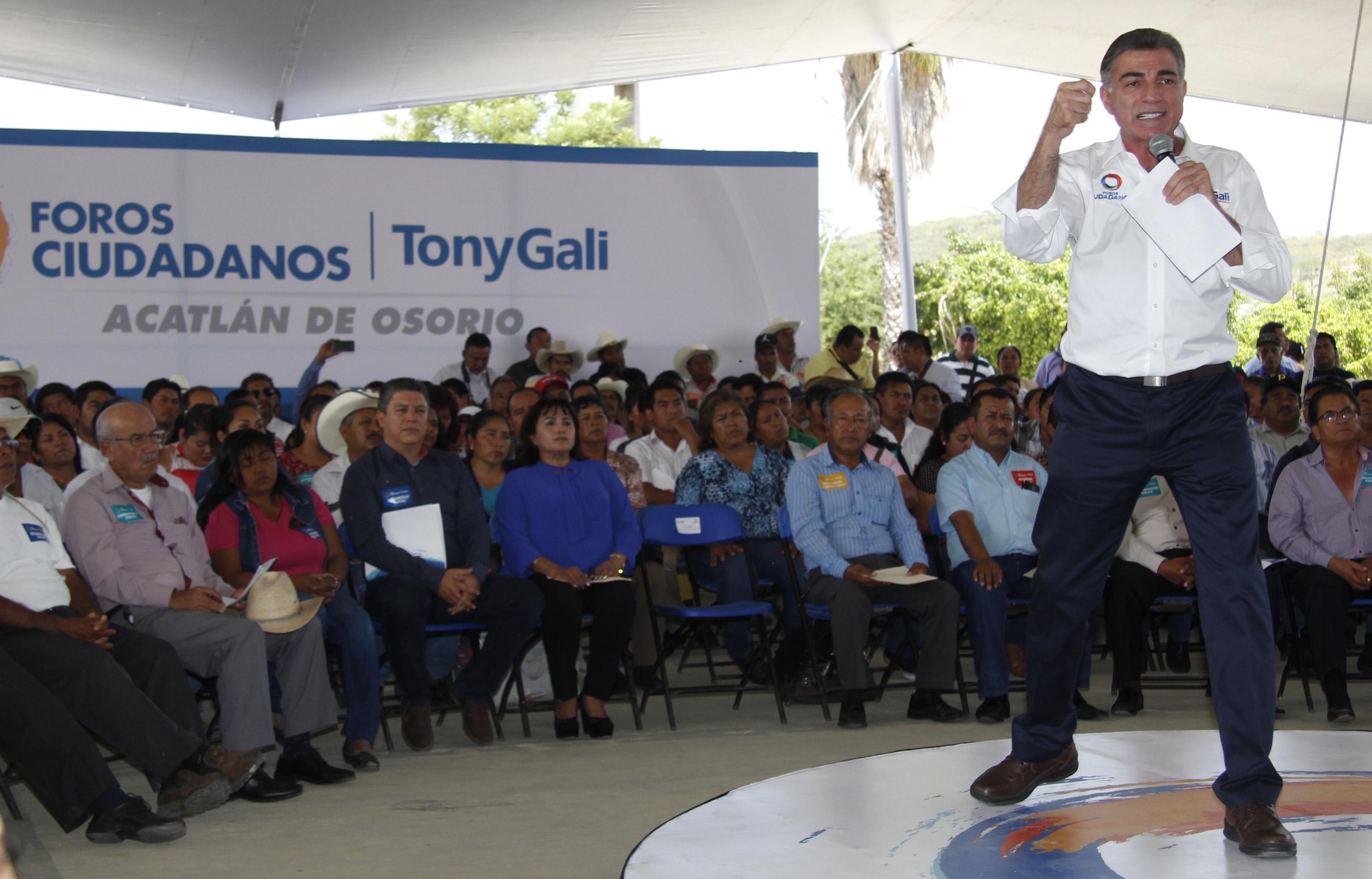 Cumplir compromisos de Gali exigirá cambios en leyes: Aguilar
