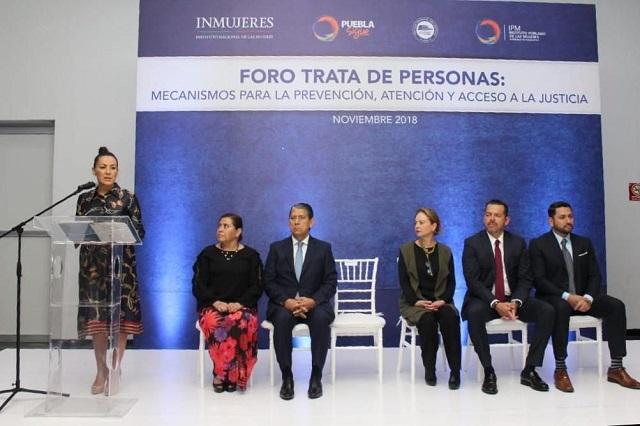 Realiza IPM foro para la prevención de trata de personas