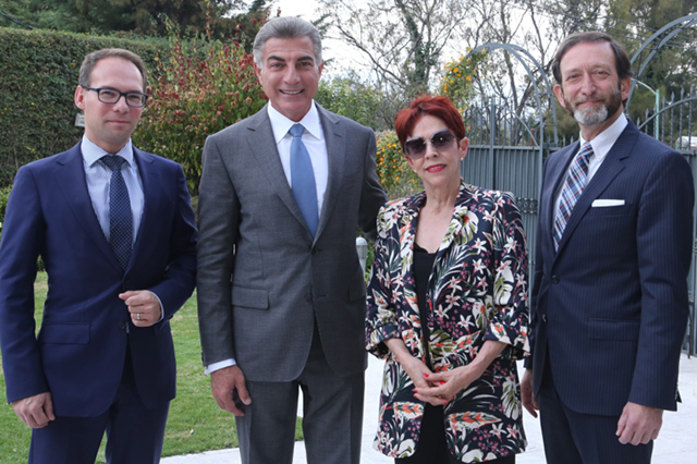 Gobernador Gali fortalece la relación bilateral con Alemania