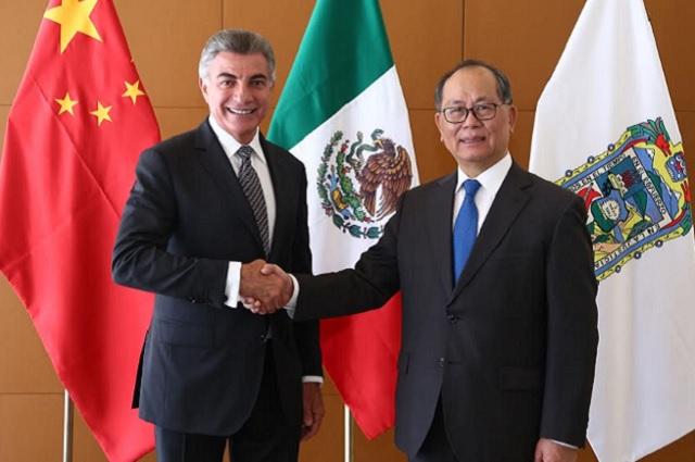 Gobernador Gali fortalece lazos comerciales con China