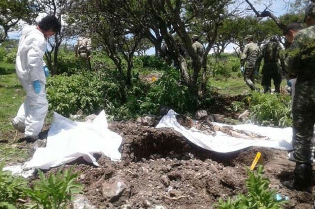 Encuentran en Zacatecas una fosa clandestina con 14 cadáveres