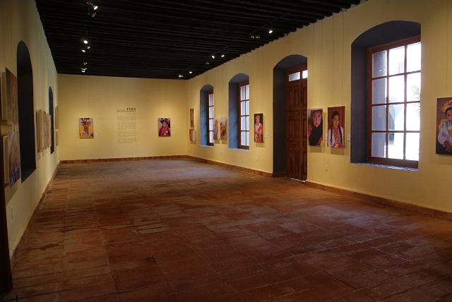 Muestra ex convento de Santa Rosa riqueza cultural de Perú
