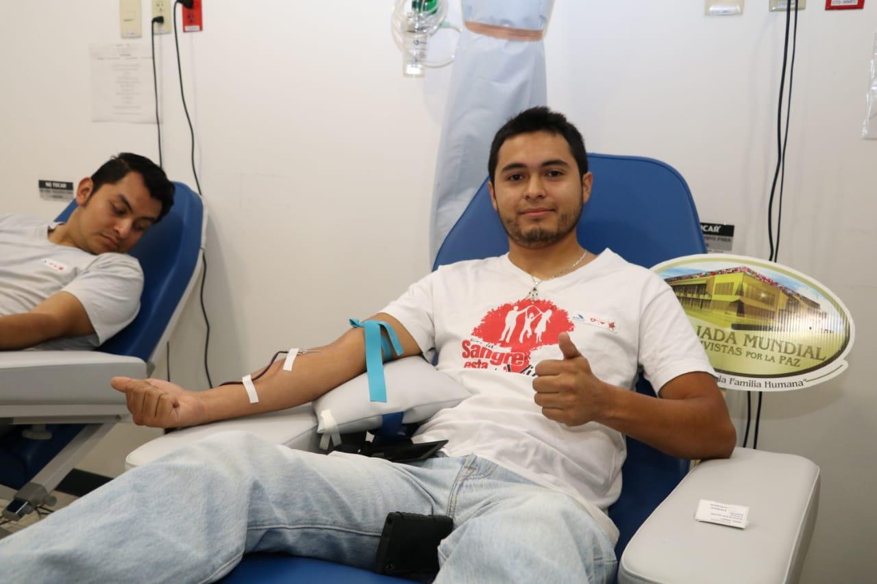 Salud conmemora el Día Mundial  del donante voluntario de sangre
