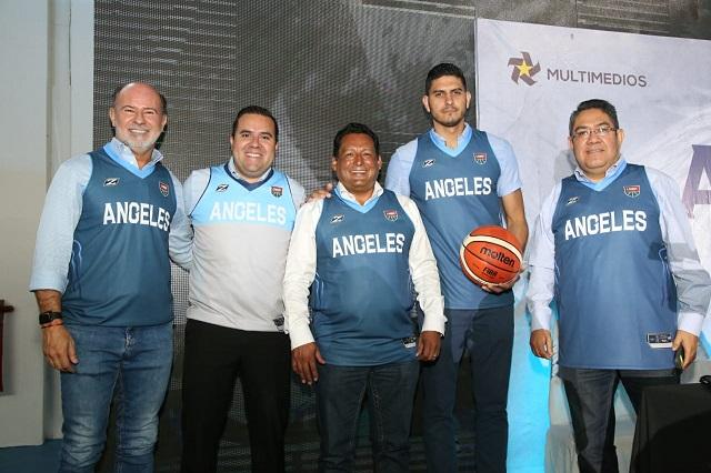 Augura SEP éxito al nuevo equipo Ángeles de Puebla, de la LNBP