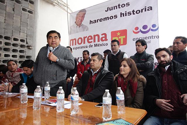 El morenovallismo pisoteó la dignidad de los poblanos: Barbosa