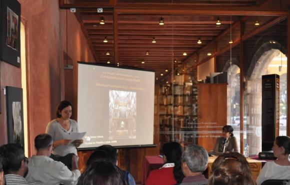 Sismo daña Biblioteca Franciscana en San Pedro Cholula