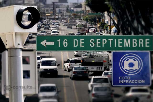 Fotomulta en el centro inhibirá uso de automóvil, dice urbanista