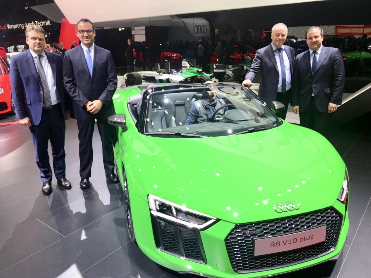 Refrenda Gali compromiso de colaboración con Audi