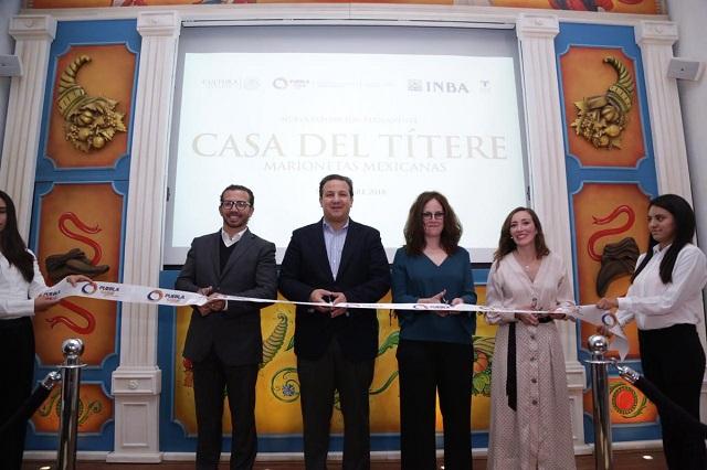 Casa del Títere Marionetas Mexicanas presenta nueva exposición permanente