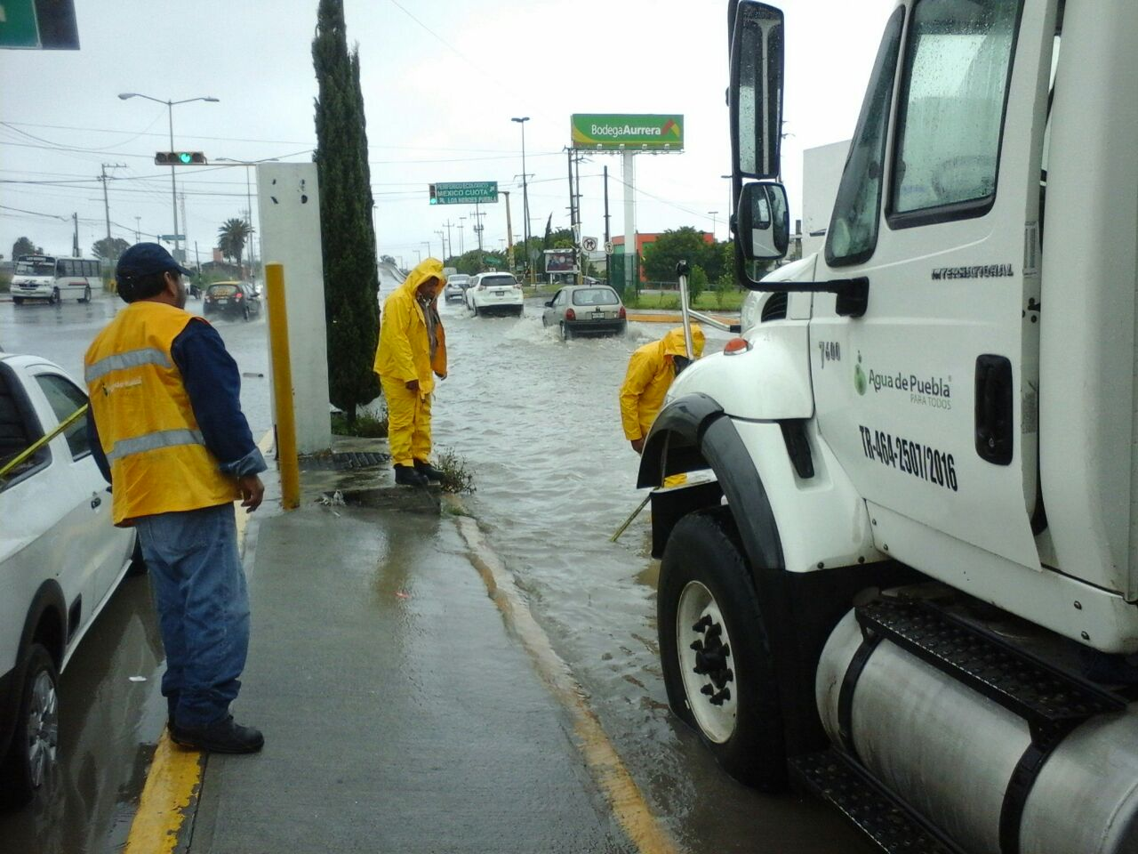 Agua de Puebla hizo obras preventivas  en diversas colonias de la capital