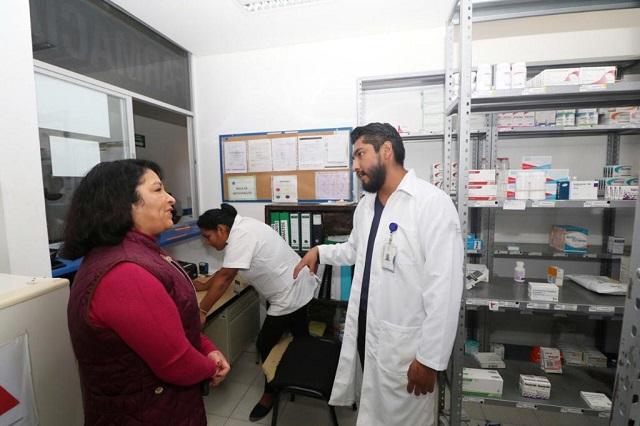 Salud supervisa las unidades médicas del territorio poblano