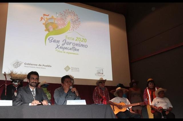 Apoya Secretaría de Cultura Feria de San Jerónimo Xayacatlán