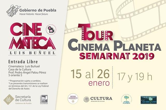 Llega a Puebla muestra del Festival Cinema Planeta