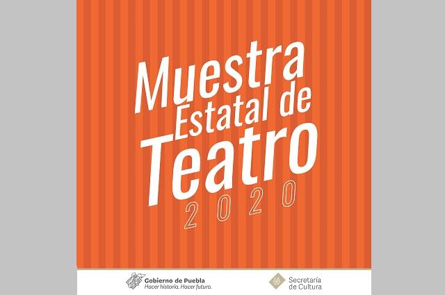 Convoca Secretaría de Cultura a Muestra Estatal de Teatro