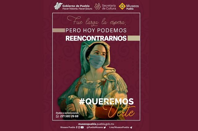 Inicia la reapertura de los museos en Puebla