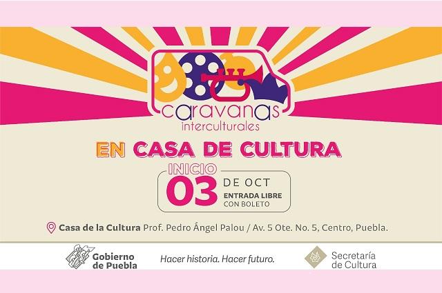 Retoman eventos presenciales en Casa de la Cultura de Puebla