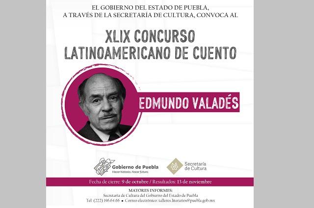 Convocan al concurso latinoamericano de cuento Edmundo Valadés
