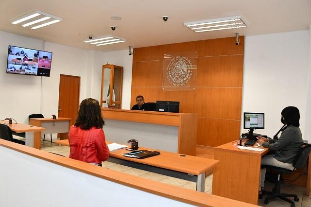 Se realiza el primer juicio oral en materia familiar en Puebla