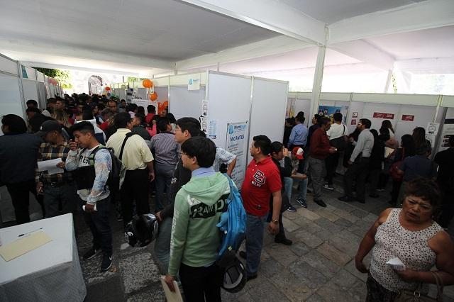 Ofrece Primera Feria del Empleo más de 2,200 vacantes en Puebla