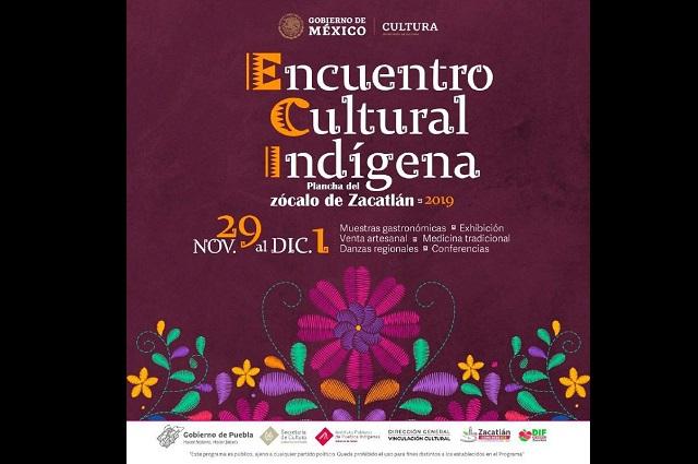 Realizará Secretaría de Cultura primer Encuentro cultural indígena