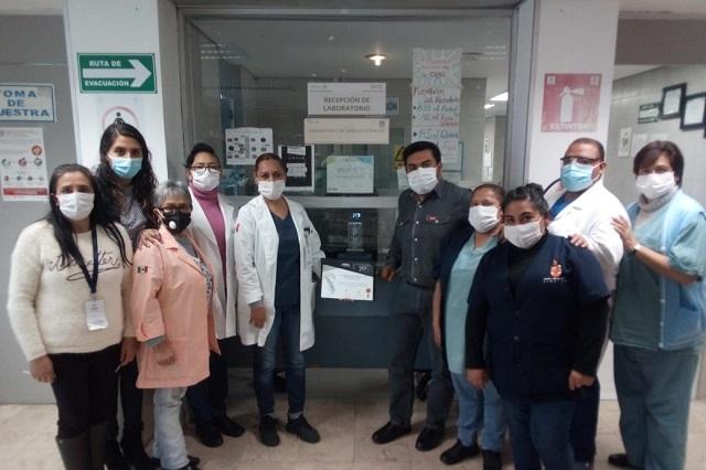 Recibe Hospital del ISSSTE Huauchinango Galardón Rey Pacal