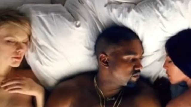Kanye West desnuda a Rihanna, Kim Kardashian, Taylor Swift y Donald Trump