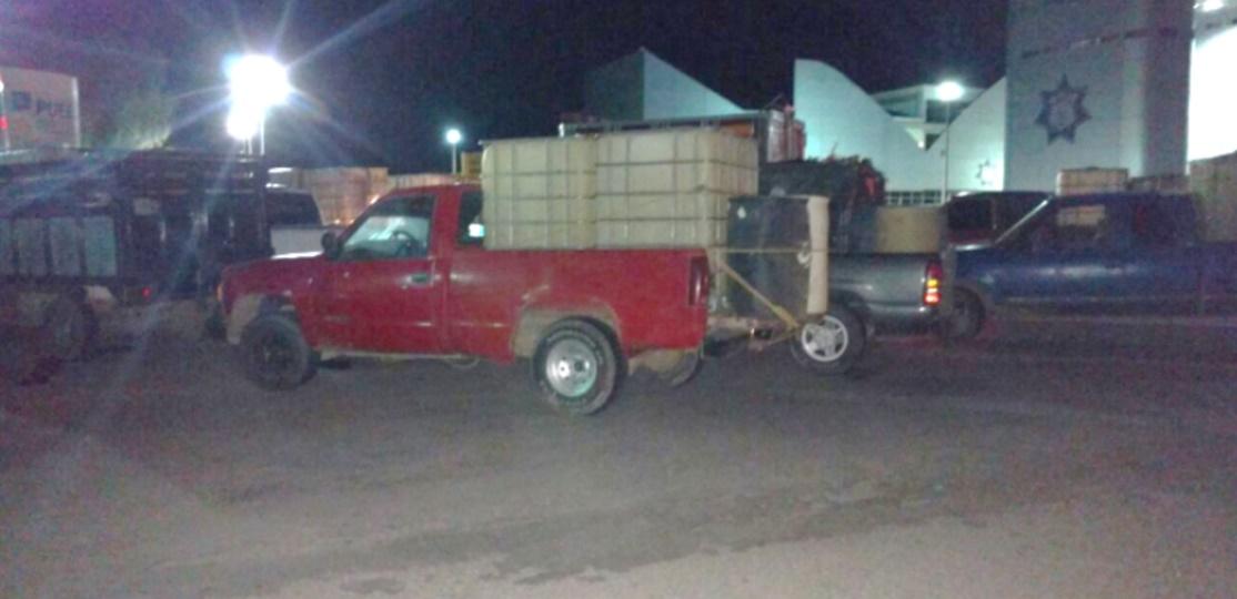 Aseguran 32 vehículos usados para hidrocarburo robado