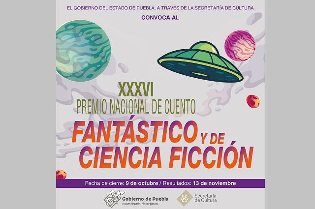 Abren Premio Nacional de Cuento Fantástico y Ciencia Ficción