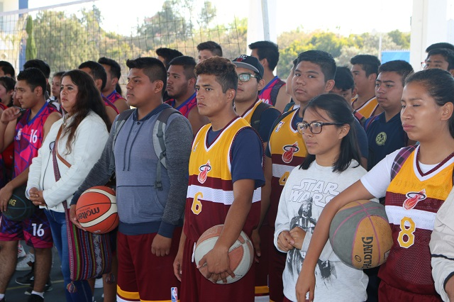 Más de 3 mil estudiantes participan en los Juegos Deportivos del Cobaep