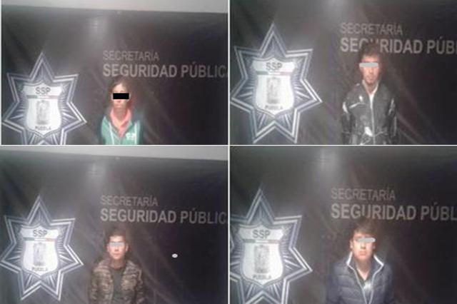SSP detuvo a siete hombres dedicados al robo en carretera